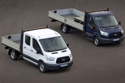 Ford Transit z wadliwymi tylnymi stabilizatorami
