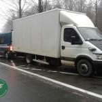ITD Kraków zatrzymało Iveco Daily przeładowane o 7 ton
