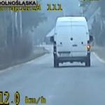 Kierowca Sprintera po alkoholu wiózł 10-letniego syna (film)