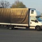 Fiat Ducato ważył 6 ton, a Iveco Daily aż 7,5 tony
