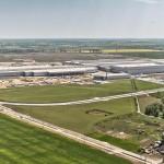 Fabryka VW Craftera w Białężycach koło Wrześni gotowa w 95 procentach