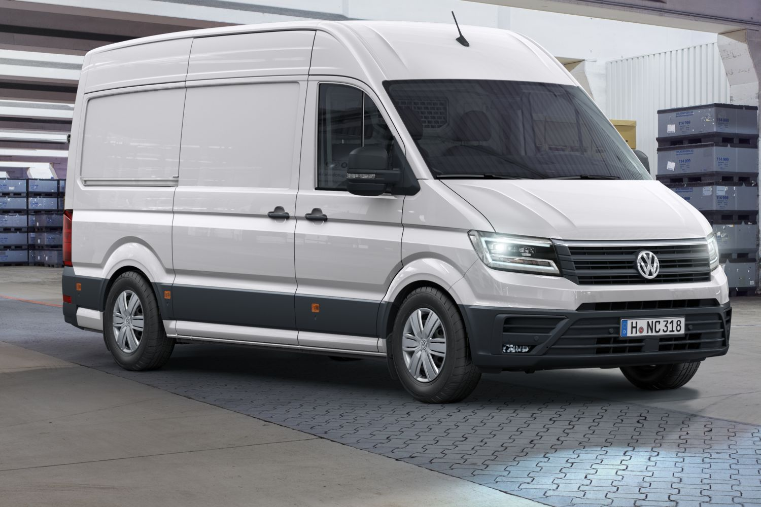 nowy vw crafter z silnikiem 2 0 tdi o mocy od 102 do 177 km. Black Bedroom Furniture Sets. Home Design Ideas