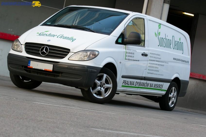 Używany: Mercedes Vito 109 CDI W639 – furgon w wersji Long (zdjęcia)