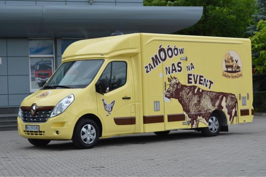 Food truck – nowość w ofercie kieleckiej firmy Moto-Truck