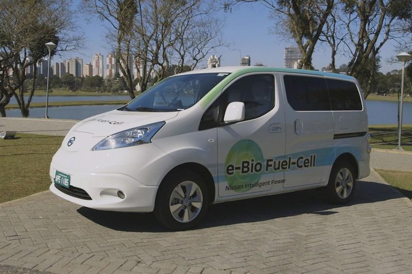 Nissan e-NV200 z ogniwami paliwowymi o zasięgu 600 kilometrów