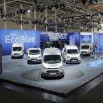 Ford Transit z układem AWD i nową automatyczną skrzynią