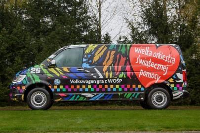Volkswagen Caravelle i Multivan w służbie WOŚP