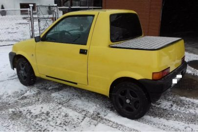 Fiat Cinquecento pick-up do kupienia za 5 000 złotych