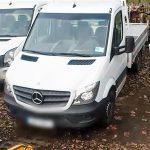 Kolejne busy skradzione w Niemczech porzucono w polskim lesie
