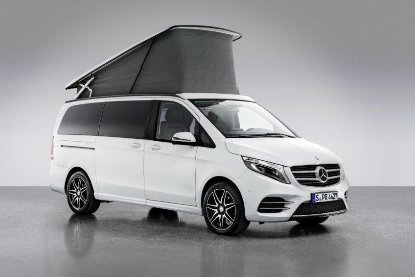 Mercedes-Benz Marco Polo Horizon – kolejny kamper w rodzinie