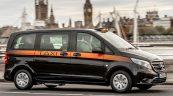 Mercedes Vito jako londyńska taksówka ze skrętną tylną osią