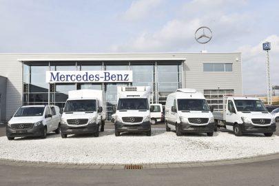 2100 dostawczych Mercedesów trafi do wypożyczalni Europcar