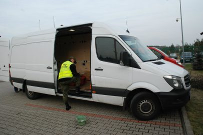 Skradziony w Niemczech Sprinter przewoził skradzioną elektronikę