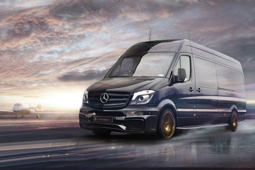 Mercedes Sprinter Jet Van od firmy Carlex Design