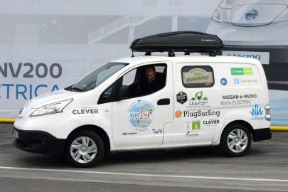 10 000 kilometrów w 35 dni elektrycznym Nissanem e-NV200