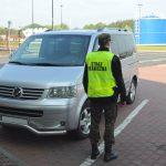 Volkswagen T5 zatrzymany na polsko-białoruskiej granicy