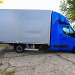 10-paletowa skrzynia Carpol dla Renault Master z kabiną Spojtrak