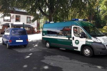 Pijany taksówkach woził VW T4 po Karpaczu pasażerów