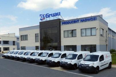 Renault Kangoo z zabudową Gruau Polska dla ORLEN Ochrona