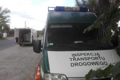Kierowca furgonu bez prawa jazdy a na pace 2000 litrów ropy