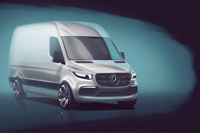 Mercedes Sprinter III generacji na rynku od I połowy 2018 roku