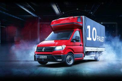 Crafter z największym wzrostem wśród użytkowych Volkswagenów