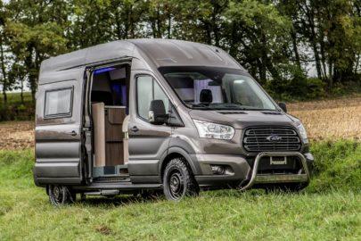 Ford Transit jako kamper z układem AWD i 5-letnią gwarancją