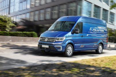 Elektryczny Volkswagen e-Crafter w sprzedaży od września 2018 roku