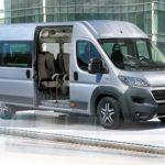 Fiat Ducato jako fabryczny minibus dla 14 lub 17 osób