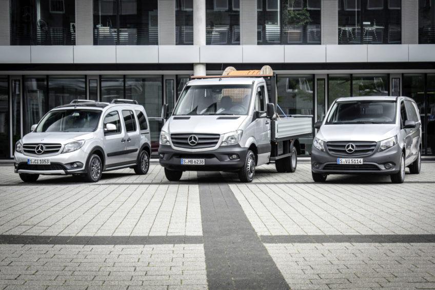 Mercedes-Benz Vans – ponad 400 000 sprzedanych aut w 2017 roku