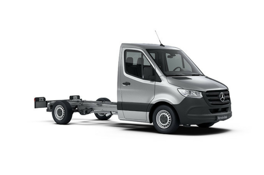 Mercedes Sprinter III – cennik od 78 230 zł za podwozie do zabudowy
