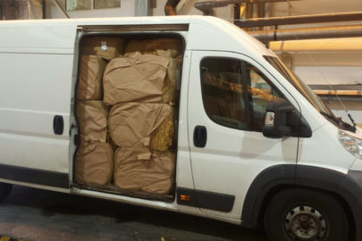 Citroën Jumper przewoził 2500 kg suszu wartego ponad milion złotych