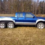 3-osiowy Nissan Navara do kupienia za 15 000 złotych