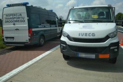 Przeładowane Iveco Daily z ADR-em – 1200 kg ponad DMC