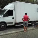 Rumuńskie Iveco ważyło 12 300 kg – nowy rekord przeładowania busa