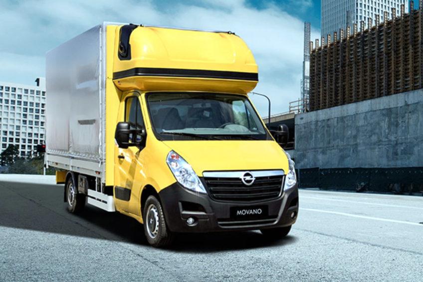Opel Movano B do serwisu – akcją objęte auta z lat 2016-2017