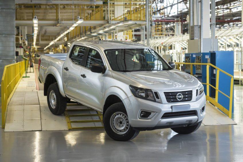 Nissan NP300 Navara z zakładów Renault w Argentynie