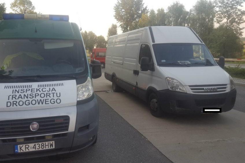 O 5 ton za dużo w Iveco Daily – mandat, punkty i zatrzymany dowód