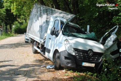 Pijany kierowca Renault Master spowodował kolizję – miał 2,4 promila