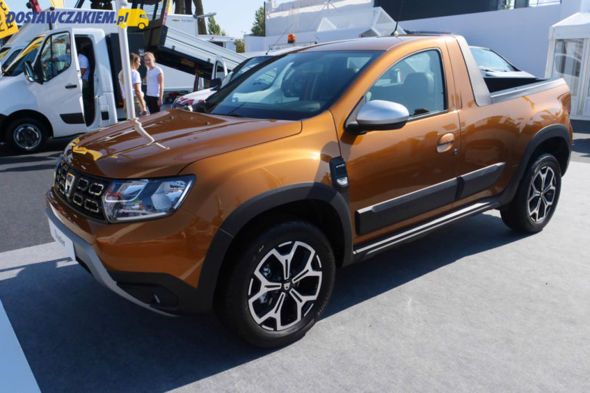 Dacia Duster Pick-Up 4WD i Dokker Pick-up na IAA 2018