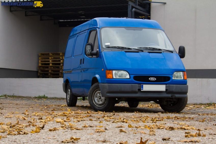 """Używany: Ford Transit IV 2.5 D 75 KM – kolega """"Rudej"""" (zdjęcia)"""