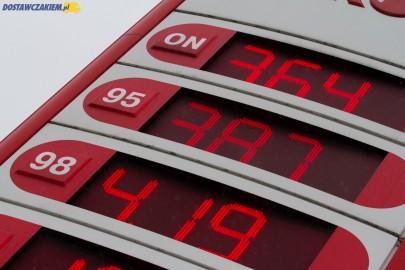 3,75 zł za litr ON – ceny paliw ciągle spadają