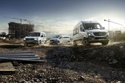 Mercedes-Benz Vans – 321 tys. aut dostawczych w 2015 roku