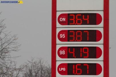3,69 zł za litr ON – spadki cen paliw wyhamowały