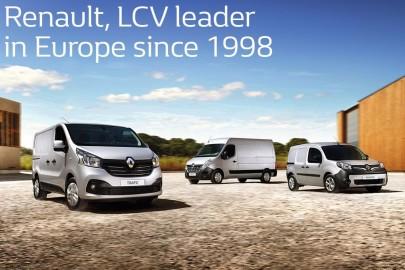 Renault liderem sprzedaży dostawczaków w Europie