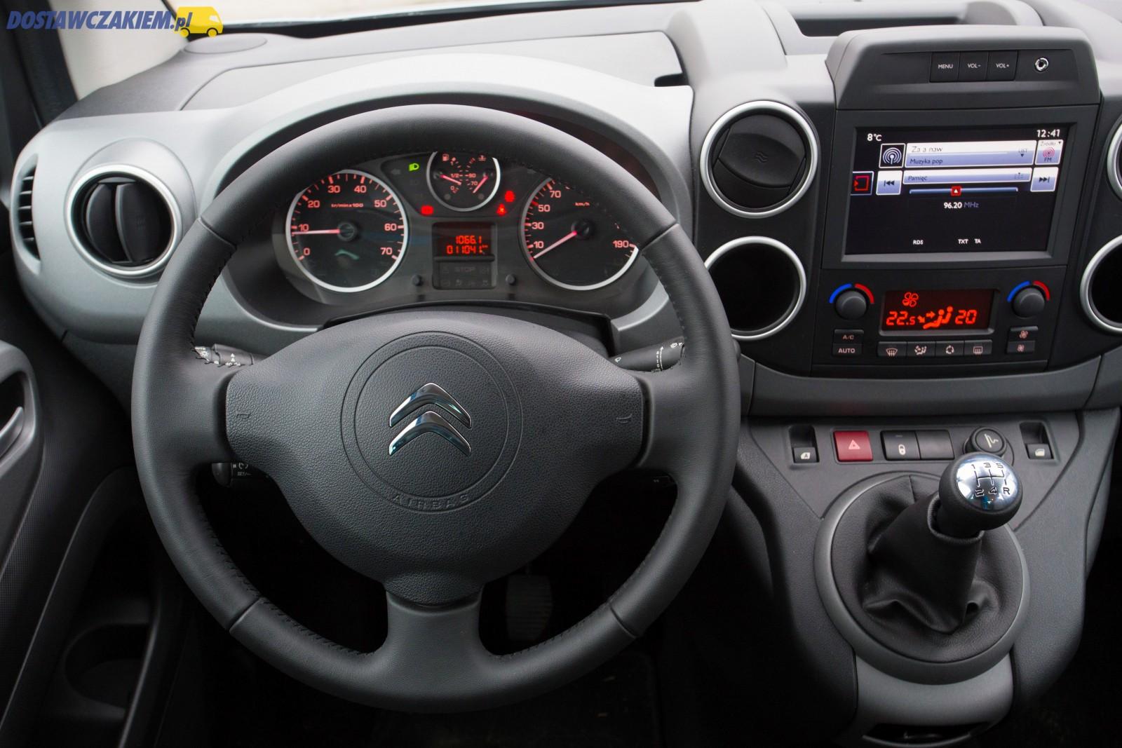 Test Citroën Berlingo II Multispace 1 6 HDi 100 KM