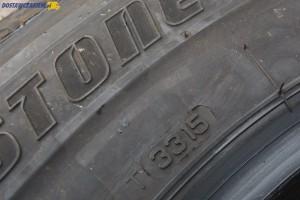 Datę produkcji opony odczytać można z czterech cyfr. W tym przypadku 3315 oznacza 33 tydzień 2015 roku.