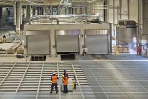 W szczytowym okresie na budowie wrzesińskiej fabryki Volkswagena Crafter pracowało około 3500 pracowników firm budowlanych.