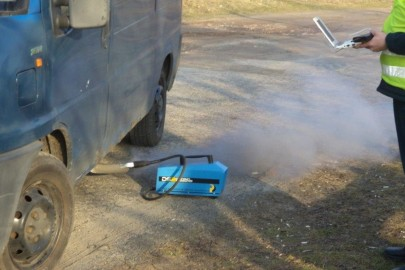 ITD Szczecin – Fiat Ducato oblał badanie dymomierzem