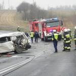 VW T4 zderzył się z ciężarówką – nie żyje 4 piłkarzy